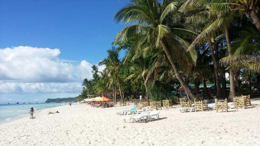 セブ留学と言えば綺麗な砂浜と青い海でリゾート留学