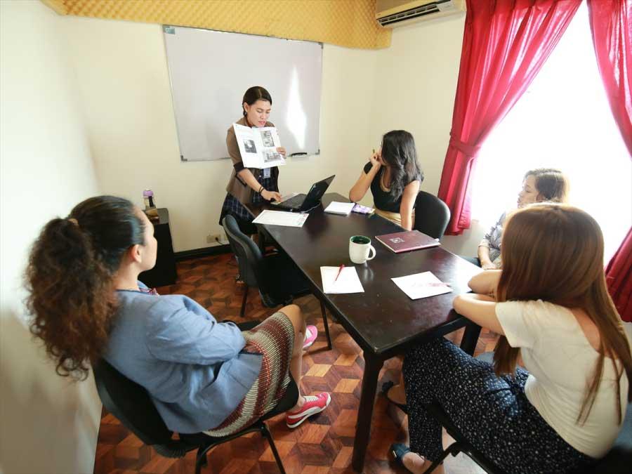 フィリピン留学のグループクラス