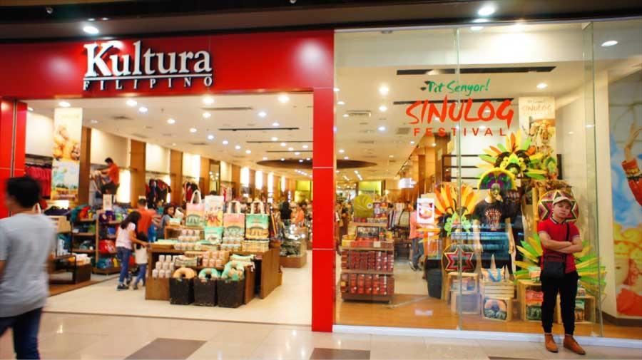 セブでおみやげの種類が一番多いのがKulturaです。SMシティの中にあり隣にユニクロがあります。