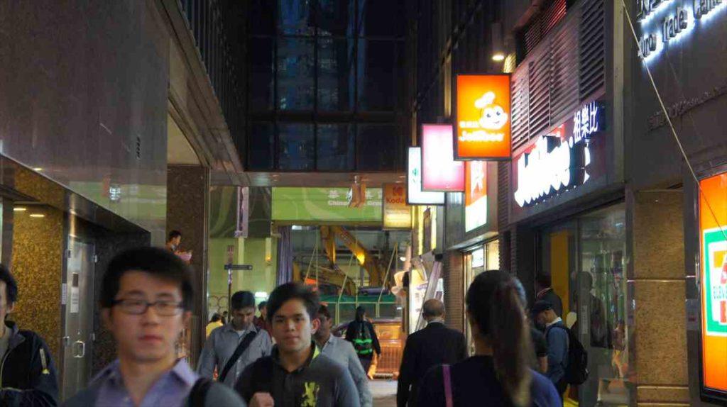 香港のジョリビー
