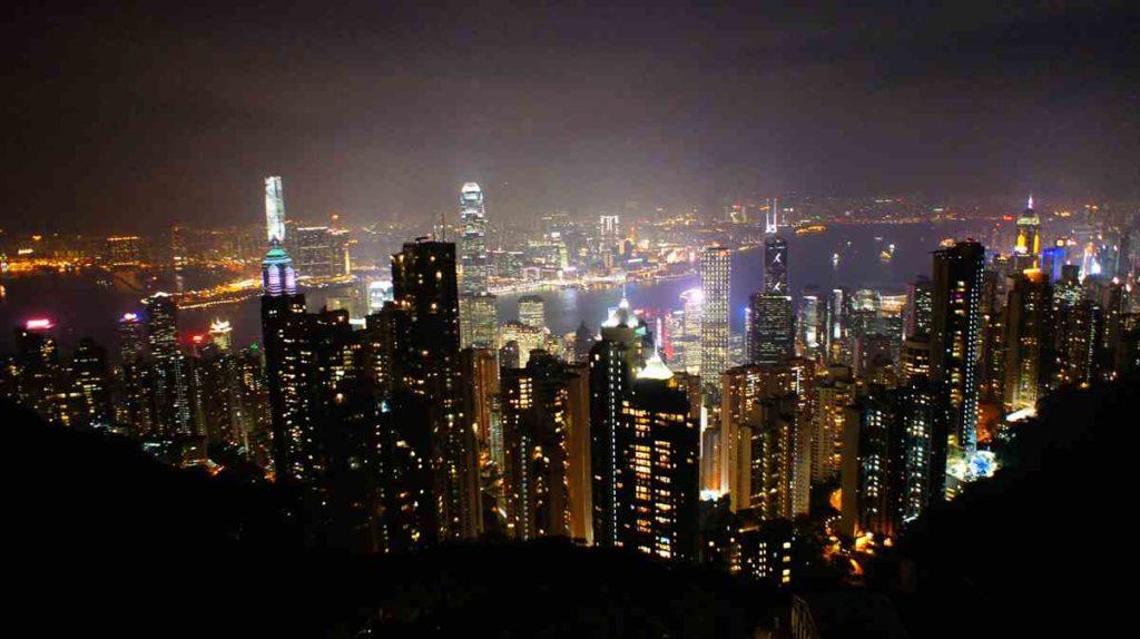 香港のヴィクトリアピーク