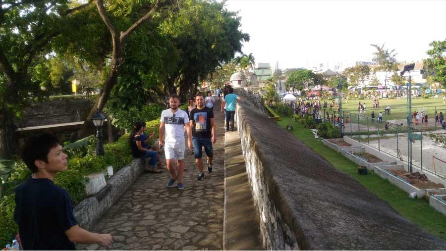 サン・ペドロ要塞の外壁