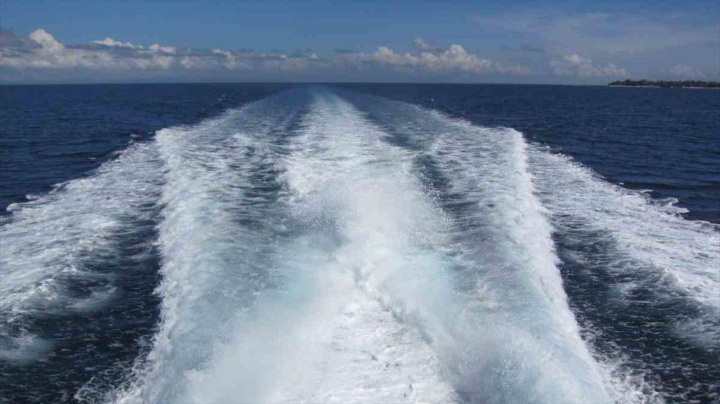 セブからボホール島へフェリーで移動