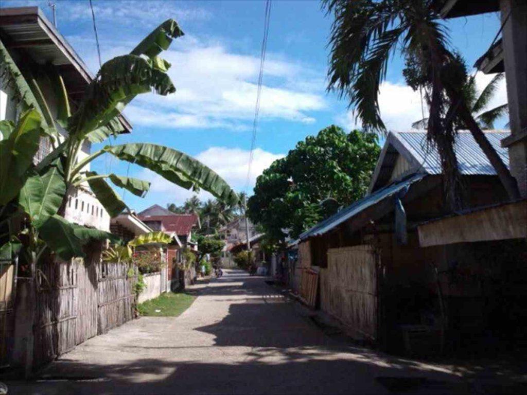 マラパスクア島の街中